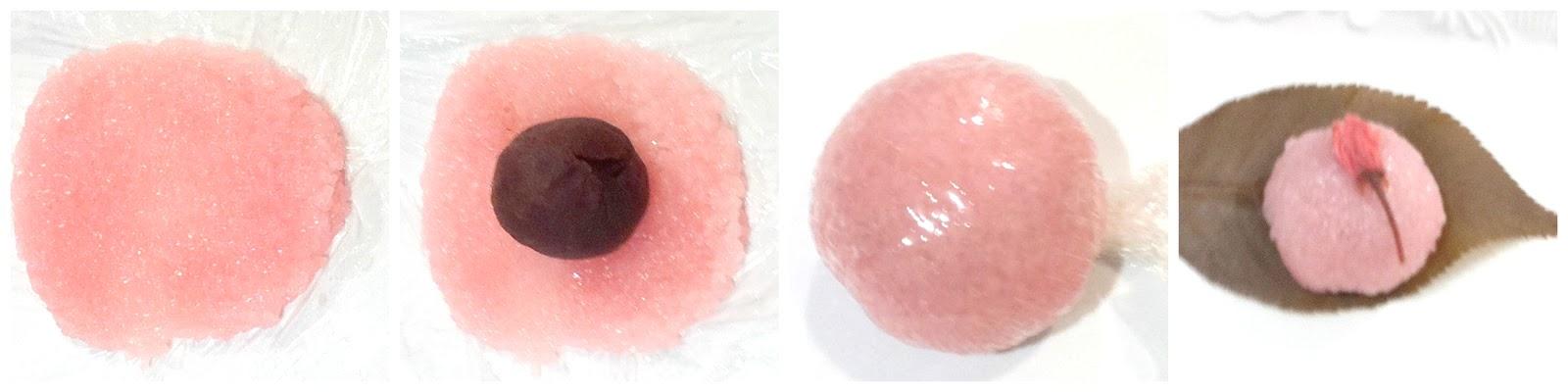 Cherie Kelly's Japanese Cherry blossom Sakura Mochi