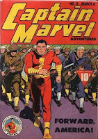 Captain Marvel Adventures #8 comic book cover