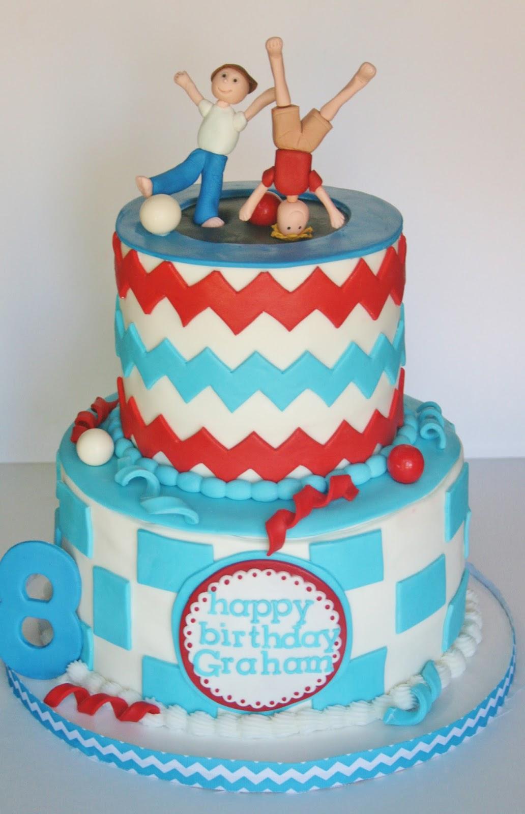 And Everything Sweet: Stylish Trampoline Cake