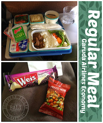 Garuda Indonesia Airline Meal Review