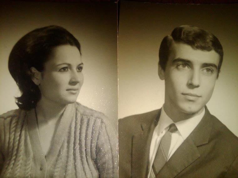 Mario Maciel e Esposa