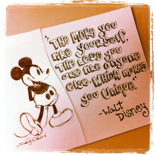 The more you like yourself Walt Disney Quote
