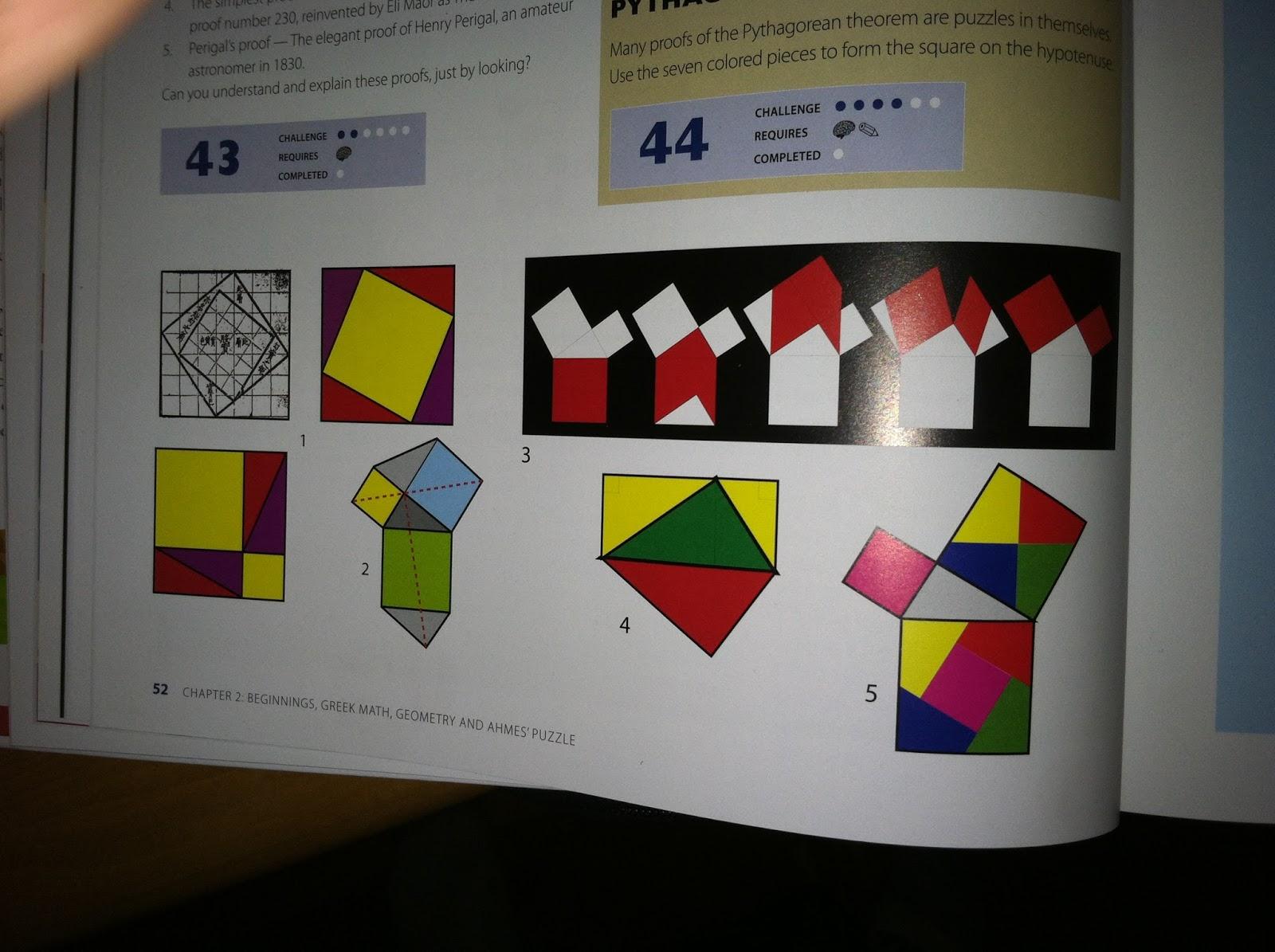 maths pythagoras theorem proof