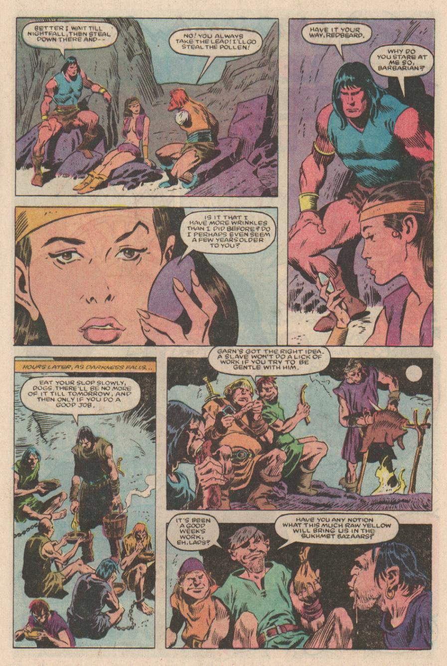 Conan the Barbarian (1970) Issue #167 #179 - English 9