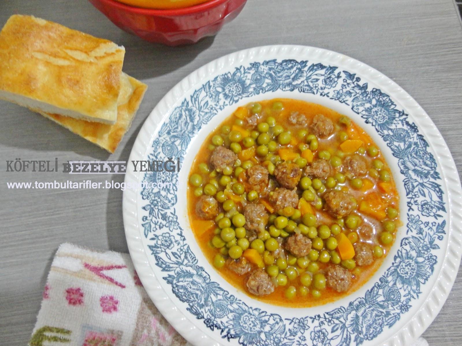 Erişteli Bezelye Çorbası Tarifi