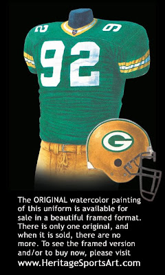 Green Bay Packers 2000 uniform