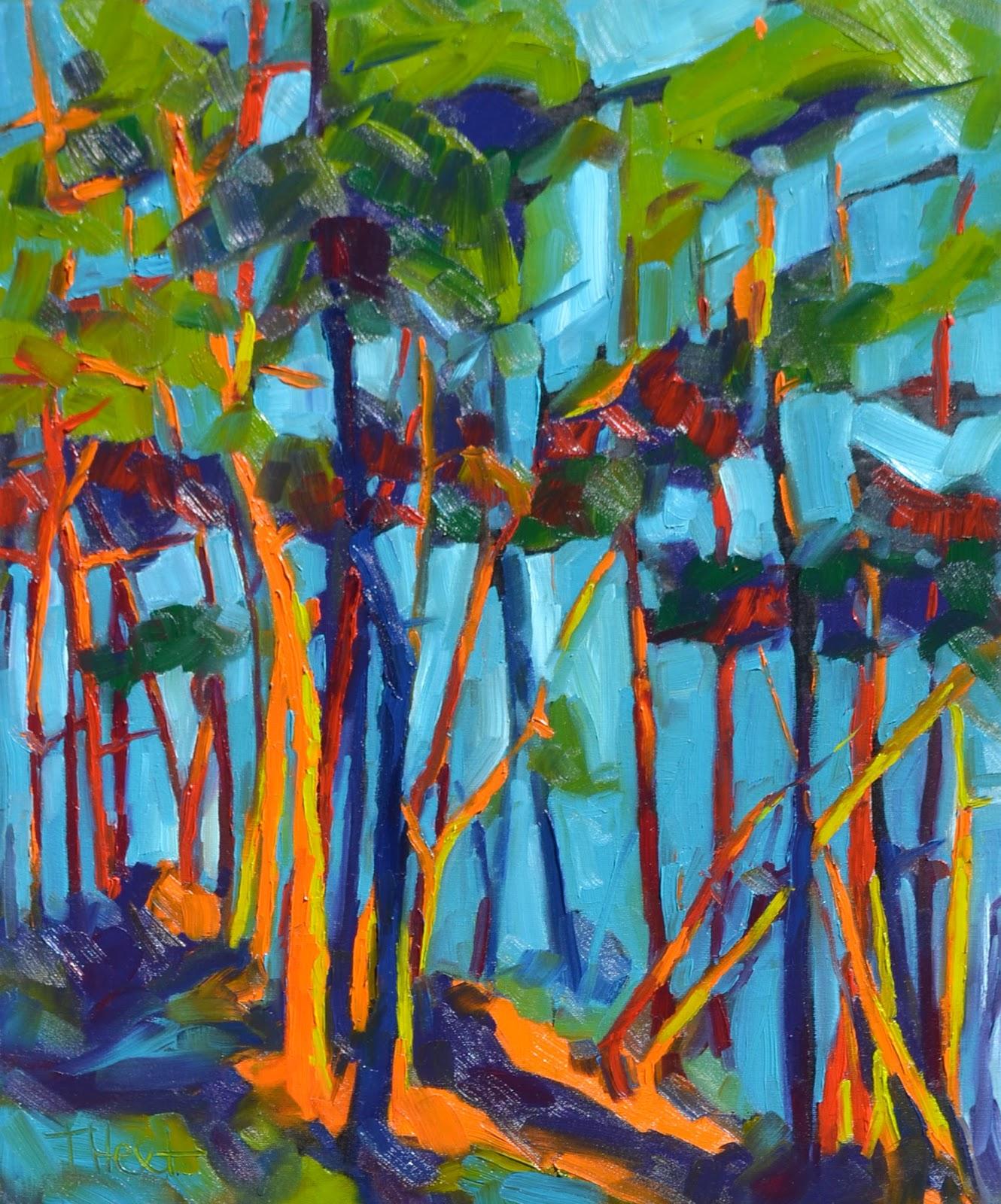 tammy hext gordon harrison art retreat five paintings