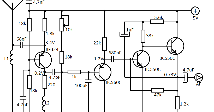 small fm receiver circuit