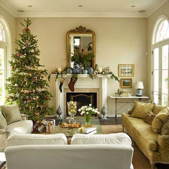 Kerstmenu 39 s voor thuis met recepten en decoratie tips voor kerstmis thuis kerstsfeer in je - Woonkamer decoratie photo ...
