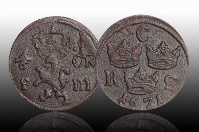 värde på gamla svenska mynt