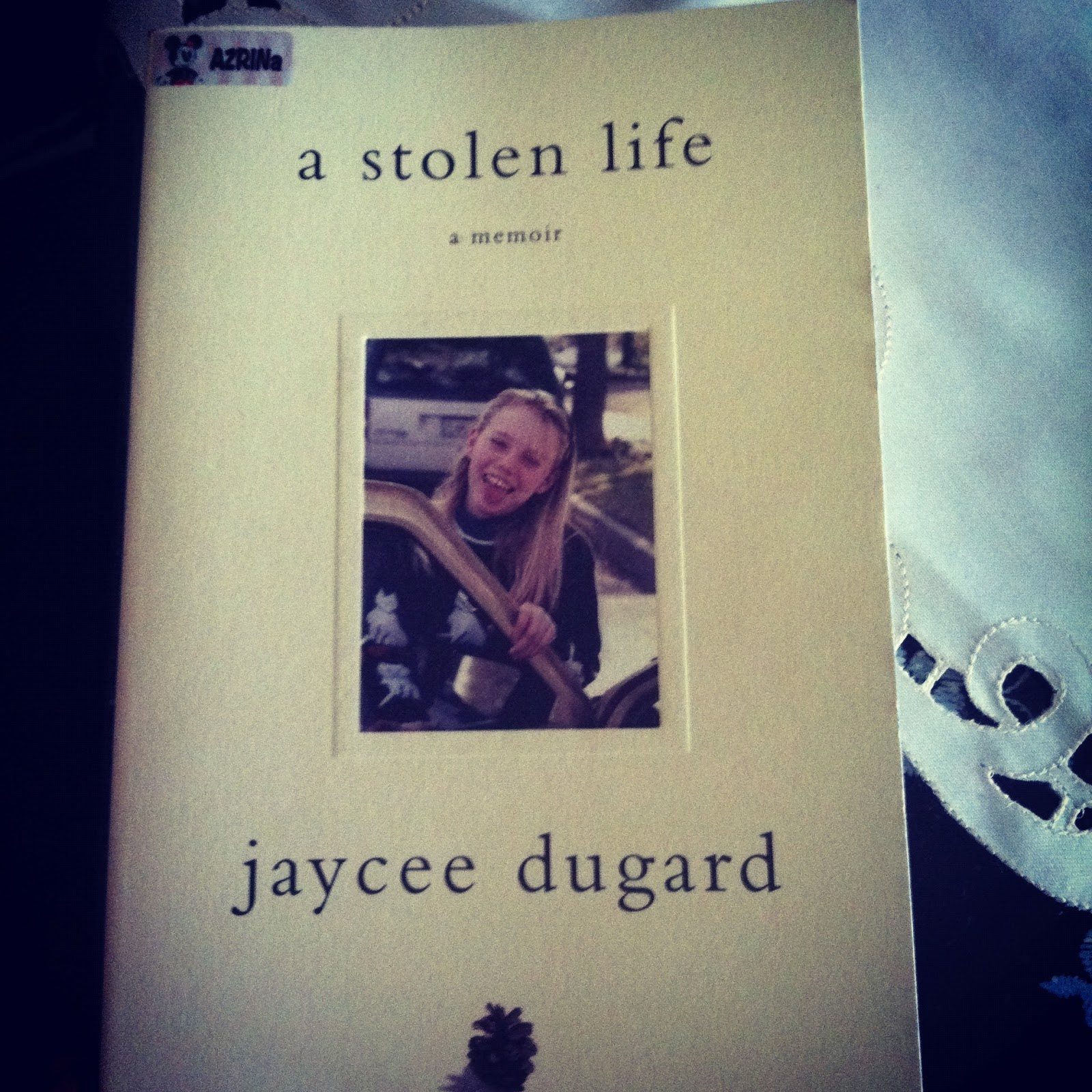 a stolen life A stolen life a memoir  certainly responsible for stealing my life and the life i  should have had  reading this would find the answer for me, but i am beginning  to.