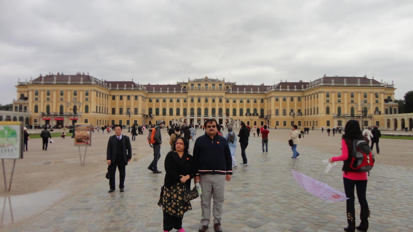 Schnonbrun Palace Vienna,Austria