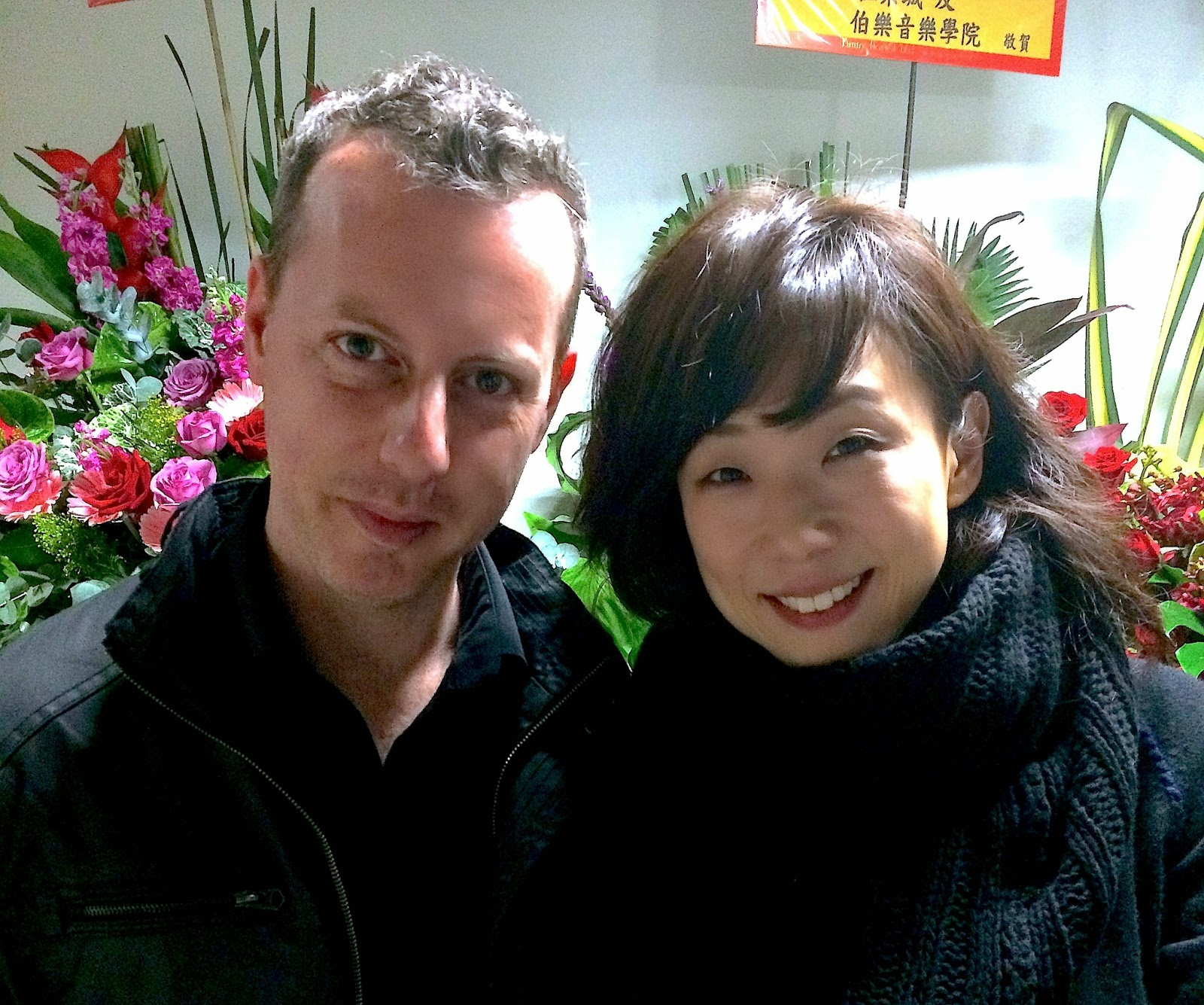 Spencer Douglass and Sandy Lam 林憶蓮