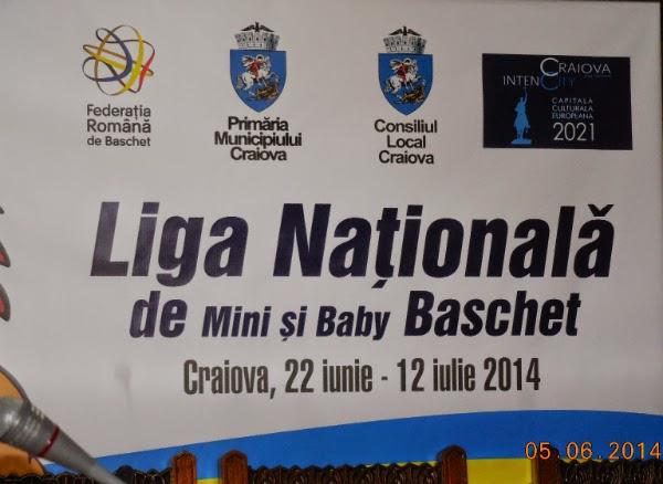 Liga de Baby si Mini Basket la Craiova