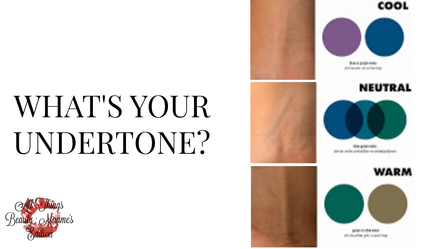 Beauty Guide What Is Your Undertone All Things