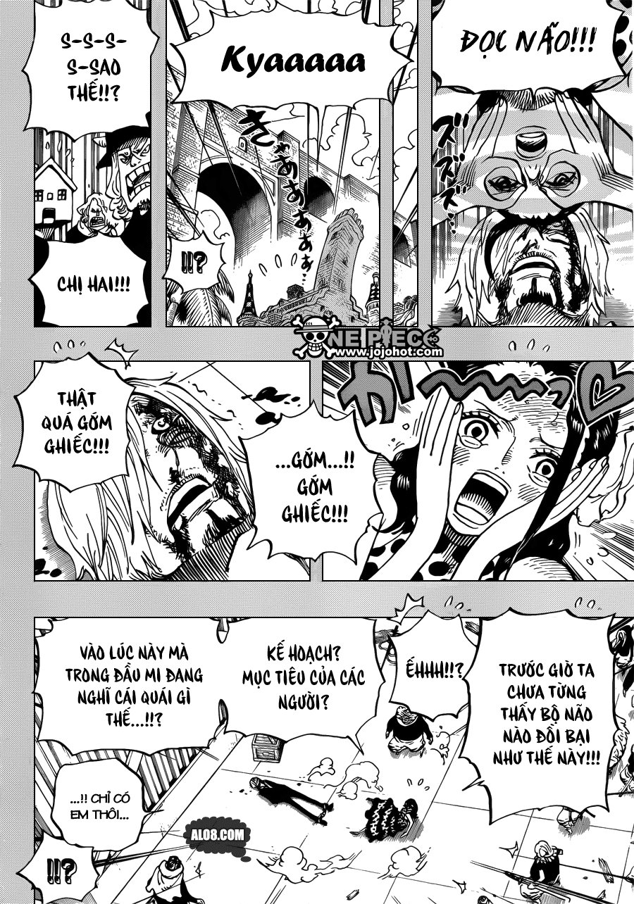 One Piece Chapter 712: Violet 006