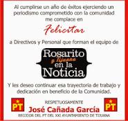 Regidor José Cañada García de Tijuana