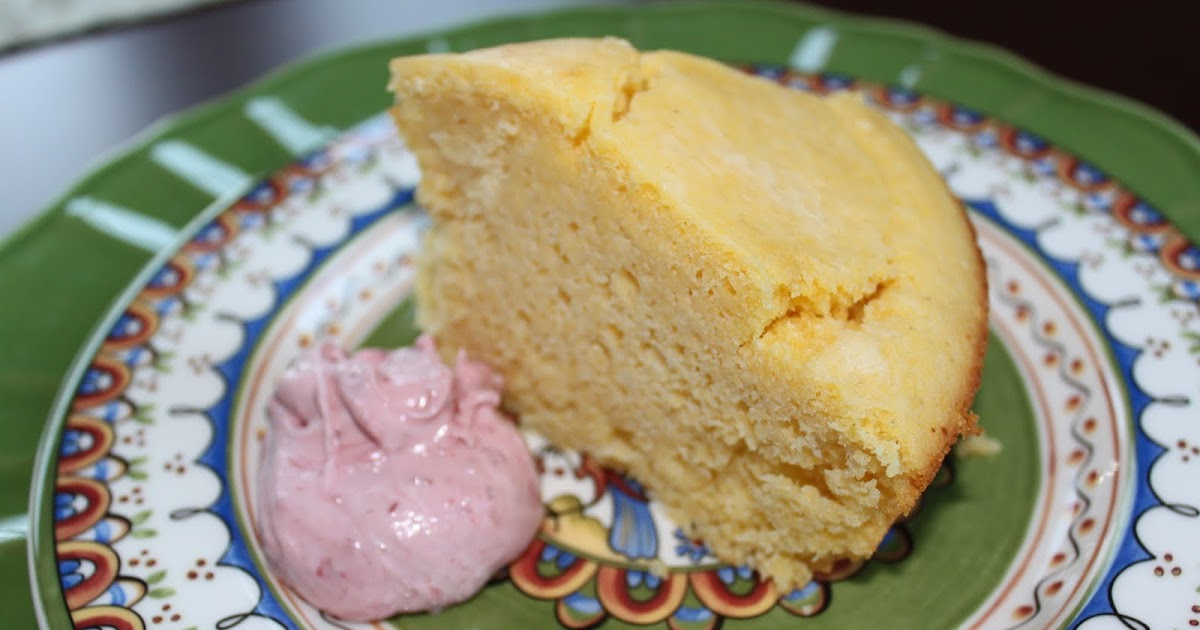 CARRIE'S COOKING CORNER: Homesteader Cornbread with Berry Honey Butter