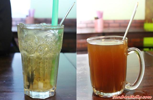 Angcle Peoh, Bandar Bukit Tinggi, Klang, Penang Ayer Itam Market, Asam Laksa, Penang Hawker Food, ginger tea, winter melon, sea coconut, basil seed