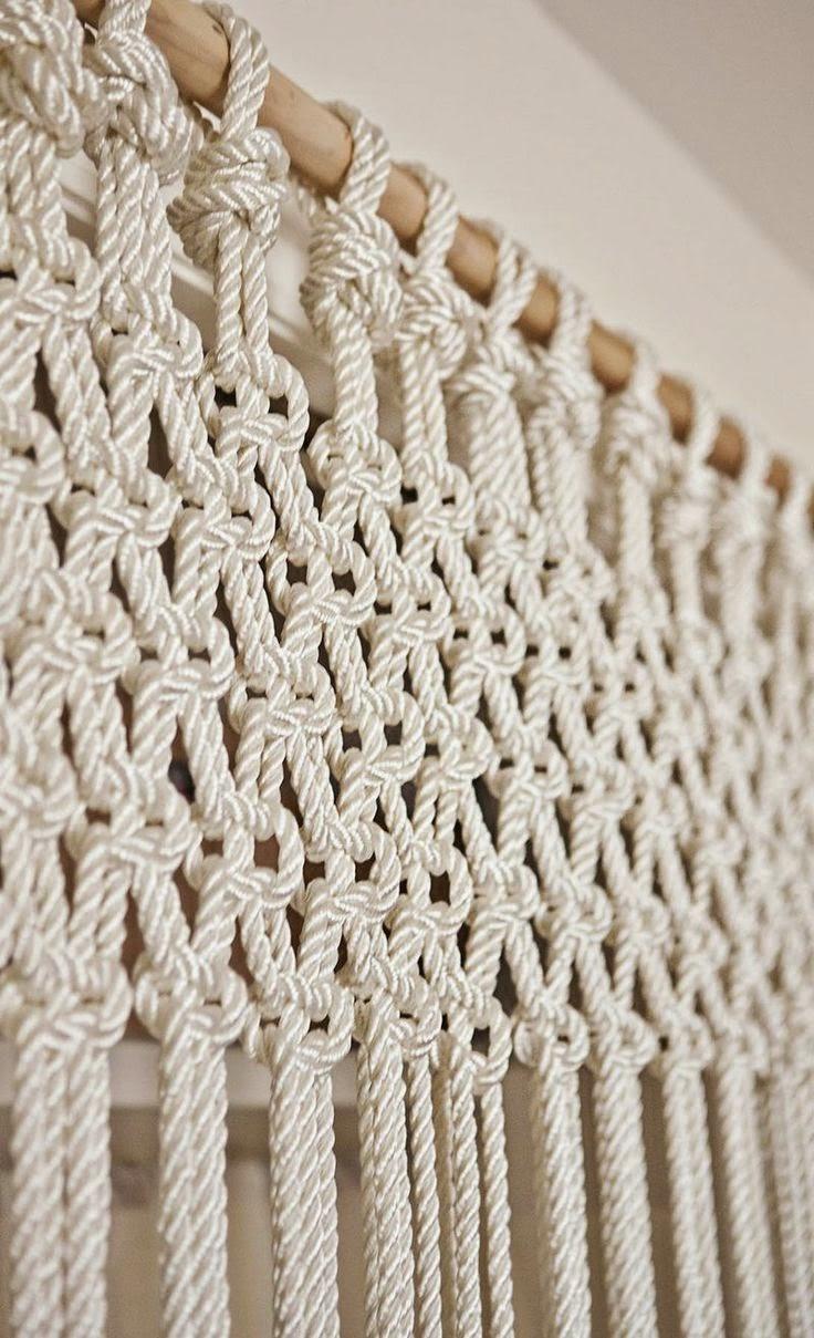 Macramé: arte de hacer nudos decorativos y conseguir piezas únicas