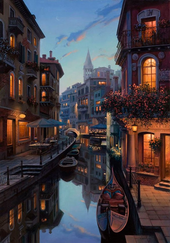 Venice, Italy. The floating city!