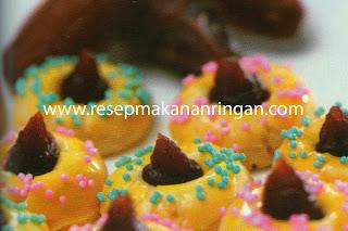 Resep Cookies : Kue Kurma Lemon
