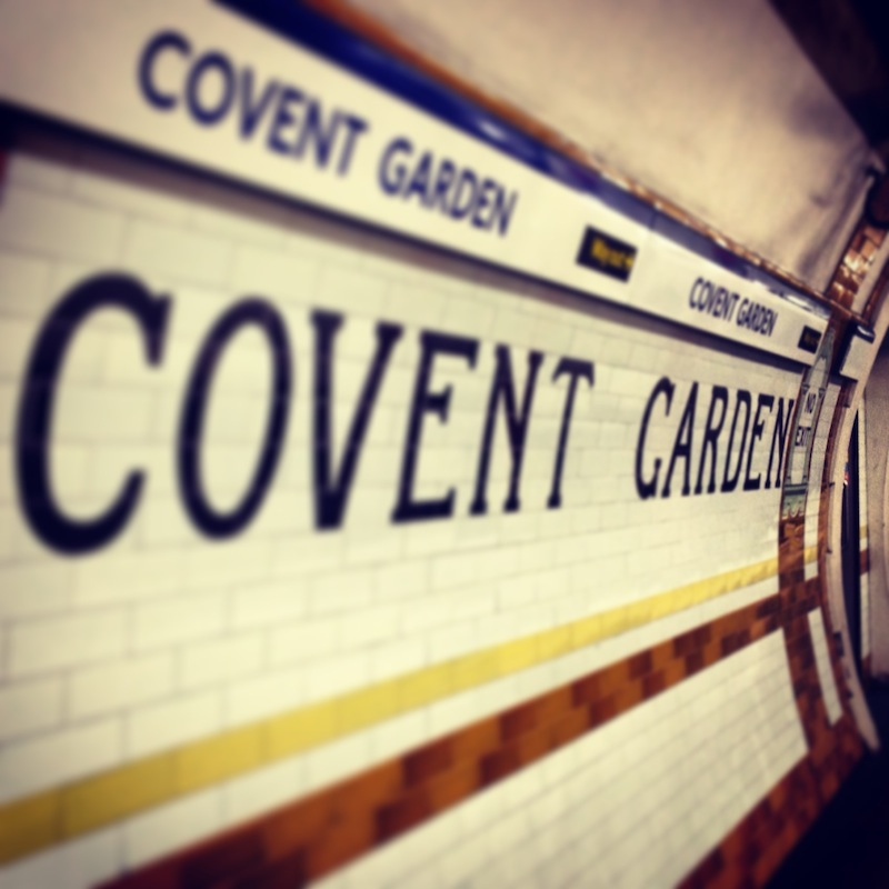 Covent Garden Underground