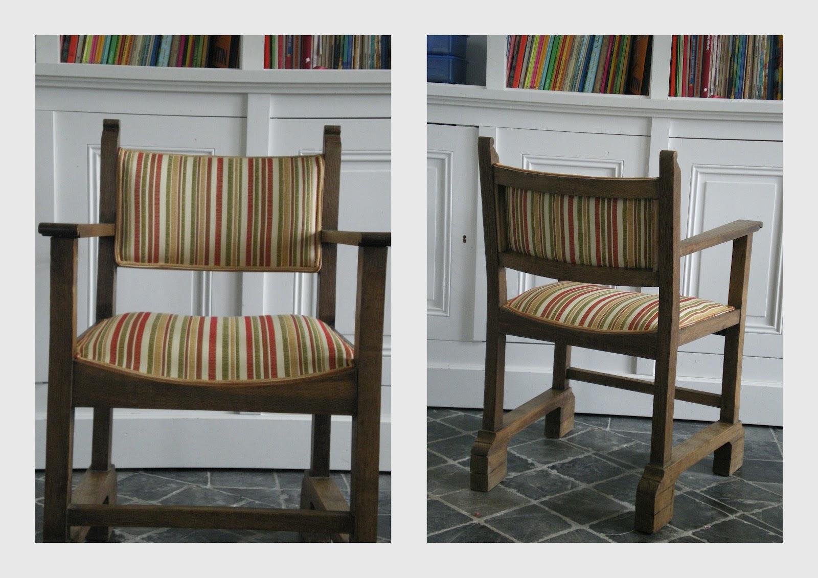 garnissage l 39 ancienne chaises fauteuils de bureau. Black Bedroom Furniture Sets. Home Design Ideas