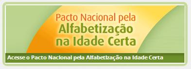 PACTO -  ALFABETIZAÇÃO