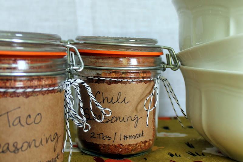 Lombardo Lagniappe: Homemade Chili and Taco Seasonings