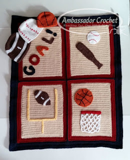 http://shop.ambassadorcrochet.com/product/play-ball-sports-fan-blanket-hat-crochet-pattern-set-pdf-193