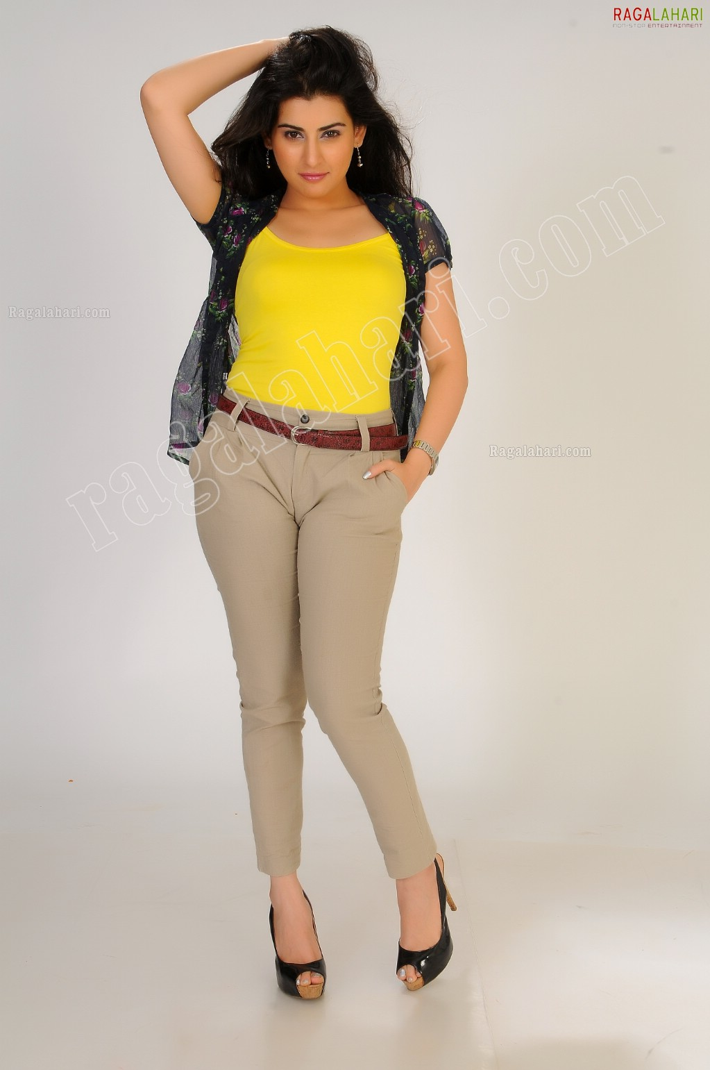 Archana Veda1 - Archana Veda in Yellow Top