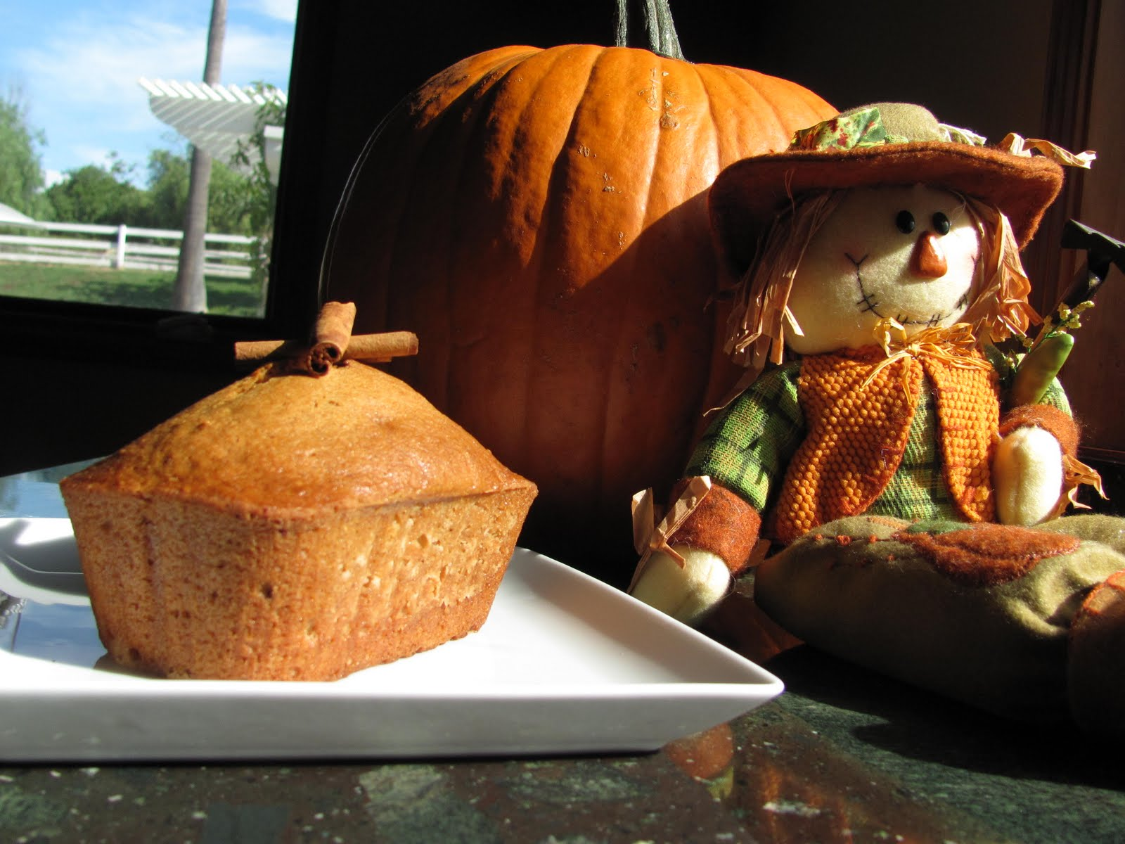how to make pumpkin bread with fresh pureed pumpkin