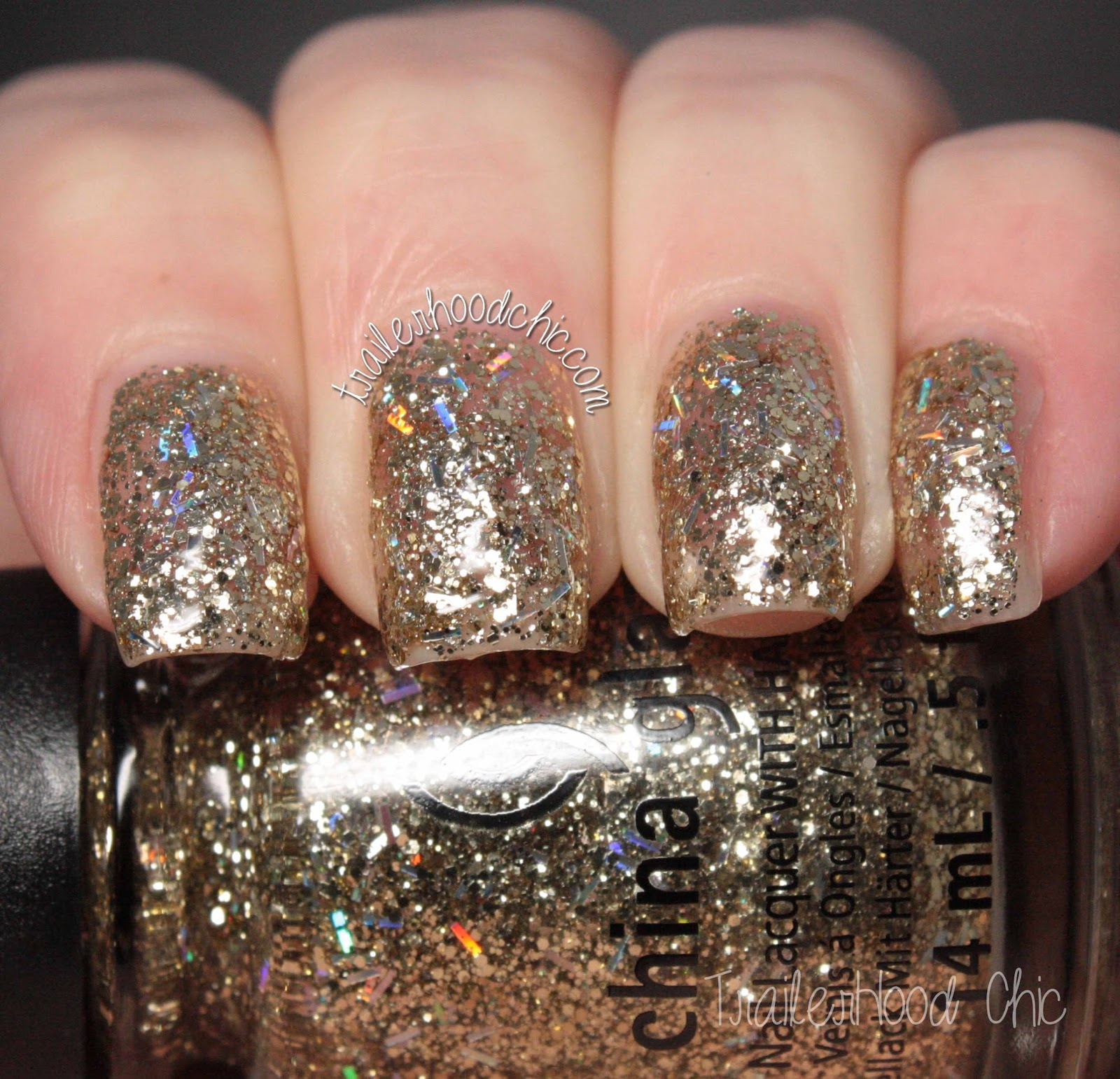 china glaze twinkle swatches delight