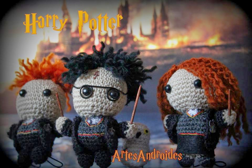 ArtesanDroides: Amigurumi Harry Potter