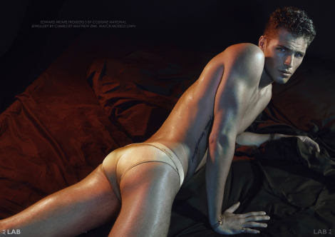 Edward Wilding by Greg Swales for Lab A4 Magazine No.4