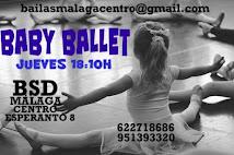 BABY BALLET  2017-18 EN BSD MÁLAGA CENTRO
