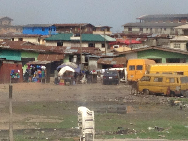 The old civilization of Lagos, Nigeria