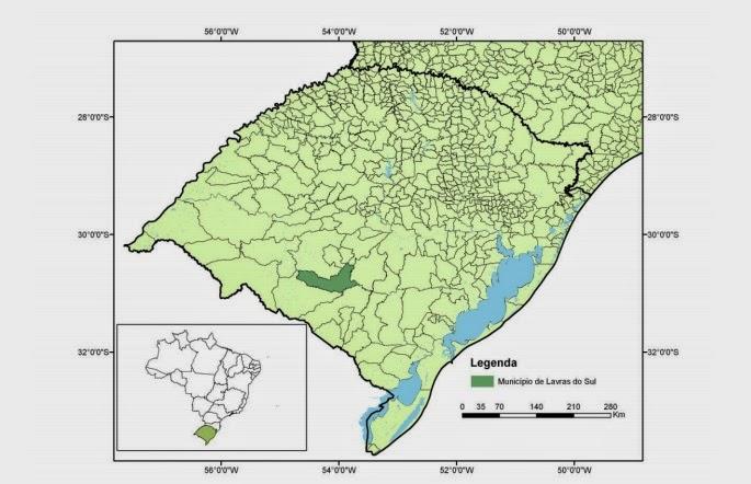 Localização regional