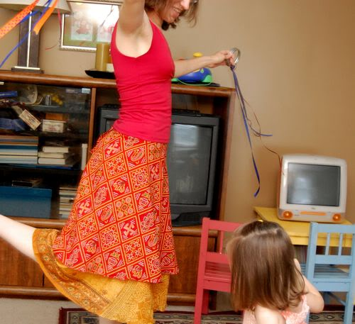 connect with your kids through dancing wacky in your living room