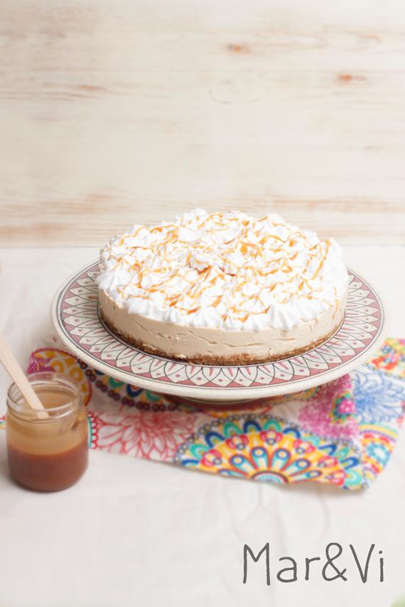 receta de tarta de queso al caramelo salado paso a paso