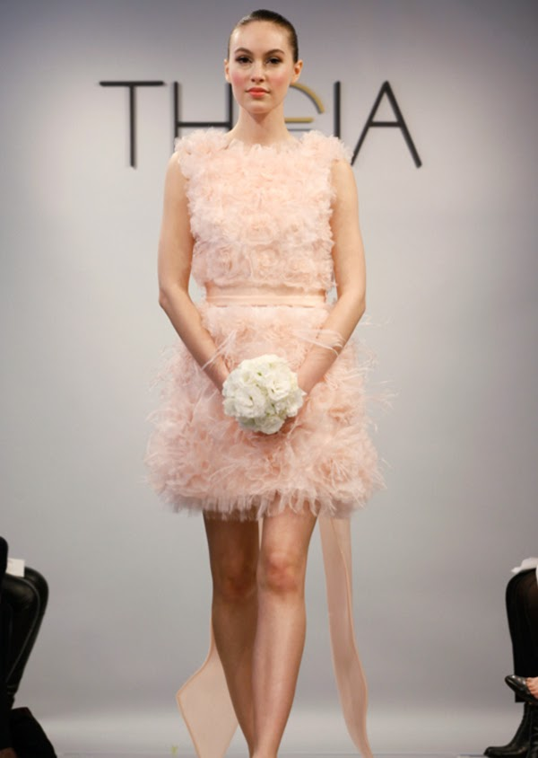 Theia's Spring 2014 White bridal collection