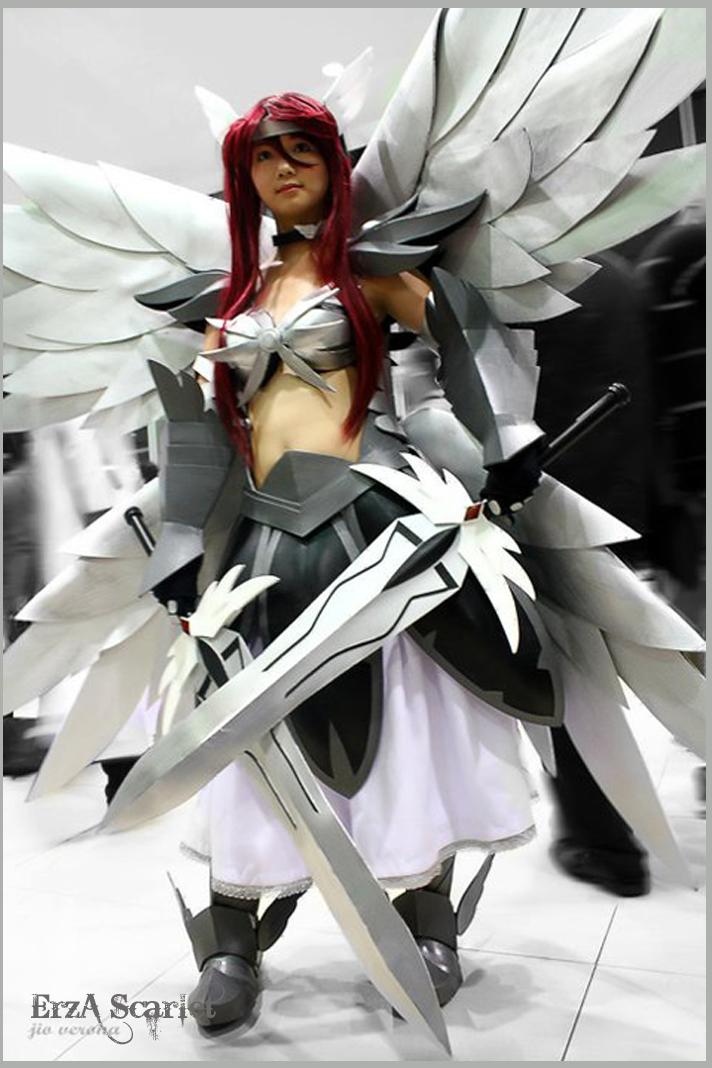 Mais que viciado cosplay - Image fairy tail erza ...