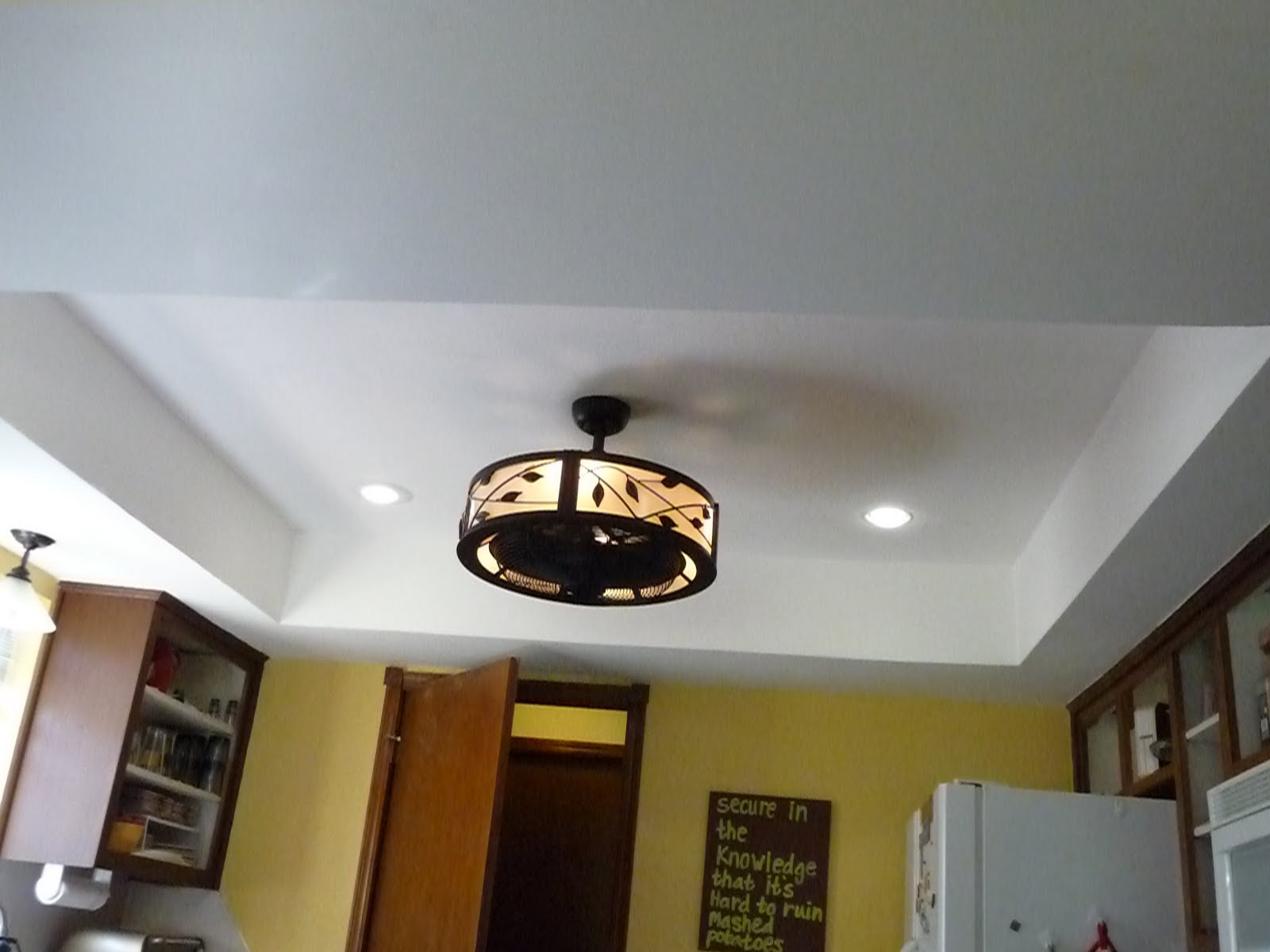 adventures in domesticity kitchen ceiling and lights