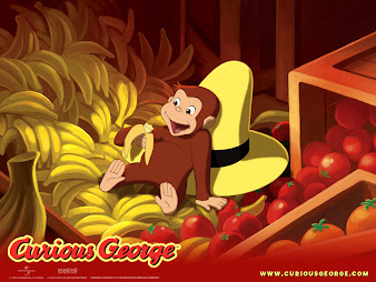 #6 Curious George Wallpaper