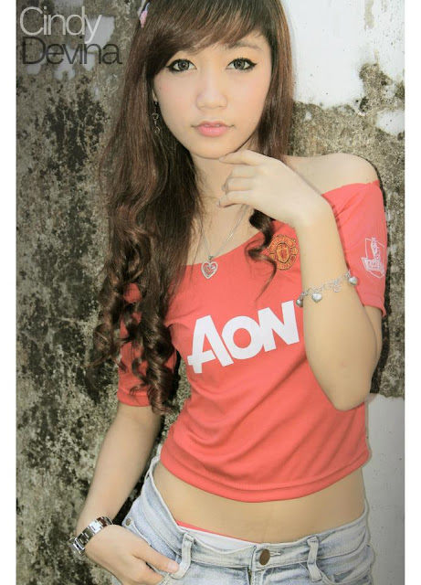 Manchester United Girl from Indonesia