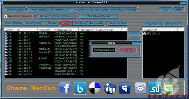 Download Netcut Full mới nhất – Phần mềm cắt mạng máy tính khác trong mạng LAN