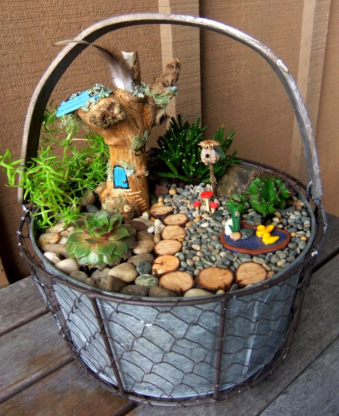 1000 images about fairy garden diy tips tutes for Jardines en miniatura