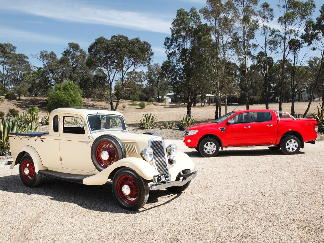 Ford Celebrates 80th Anniversary of the Aussie Ute