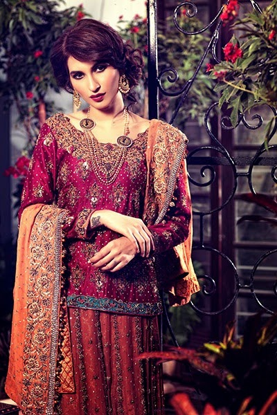 Designer Wear Bridal Collection 2015